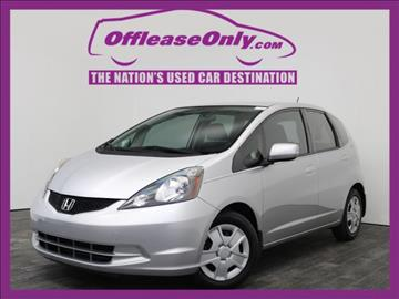 2013 Honda Fit for sale in West Palm Beach, FL