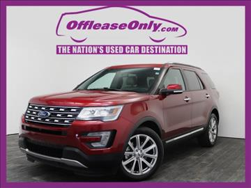 2016 Ford Explorer for sale in West Palm Beach, FL