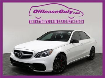 2014 Mercedes-Benz E-Class for sale in West Palm Beach, FL