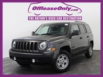 2016 Jeep Patriot for sale in West Palm Beach, FL