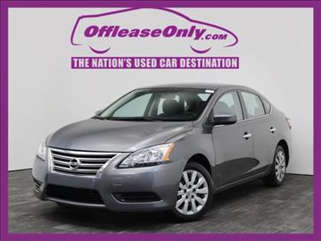2015 Nissan Sentra for sale in West Palm Beach, FL