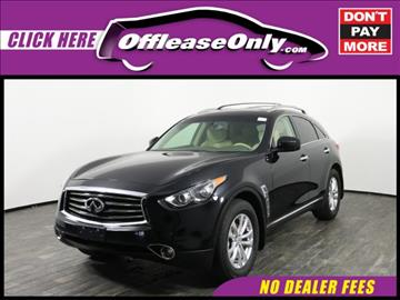 2013 Infiniti FX37 for sale in West Palm Beach, FL