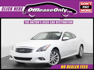 2015 Infiniti Q60 Coupe for sale in West Palm Beach, FL