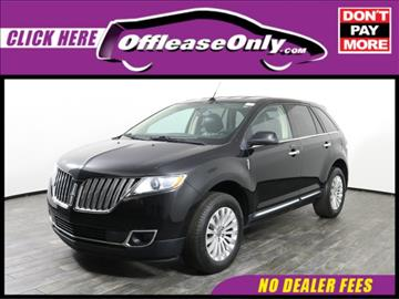 2013 Lincoln MKX for sale in West Palm Beach, FL