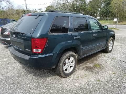 2005 Jeep granted Cherokee LAR for sale at GULF COAST MOTORS in Mobile AL