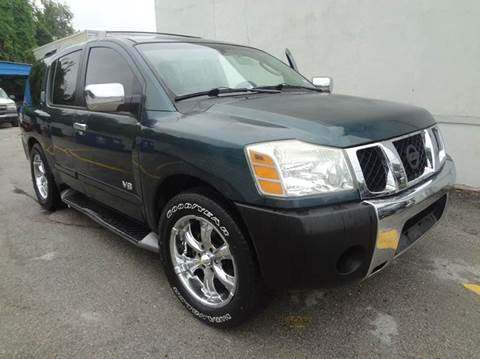 2005 Nissan Armada for sale at Northtown Auto Center in Houston TX