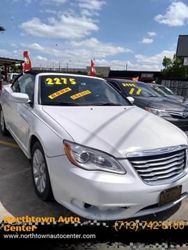 2012 Chrysler 200 Convertible for sale in Houston, TX