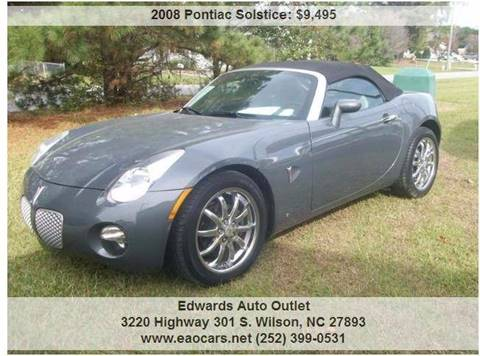 2008 Pontiac Solstice for sale in Wilson, NC