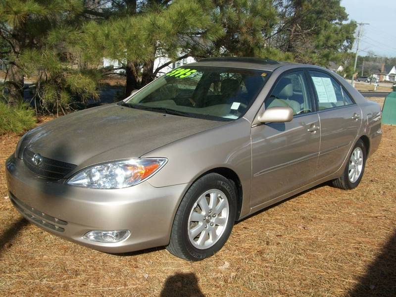 2004 toyota camry xle v6 4dr sedan in wilson nc edwards auto outlet. Black Bedroom Furniture Sets. Home Design Ideas