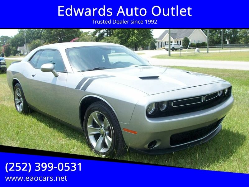 Dodge Wilson Nc >> 2015 Dodge Challenger Sxt 2dr Coupe In Wilson Nc Edwards Auto Outlet