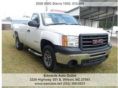 2008 GMC Sierra 1500 for sale in Wilson, NC