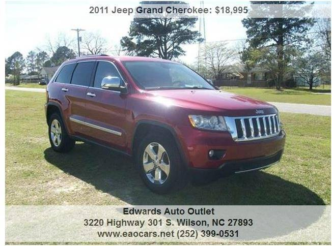 2011 Jeep Grand Cherokee 4x4 Limited 4dr SUV - Wilson NC