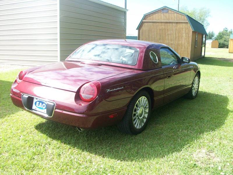 2004 Ford Thunderbird Deluxe 2dr Convertible - Wilson NC
