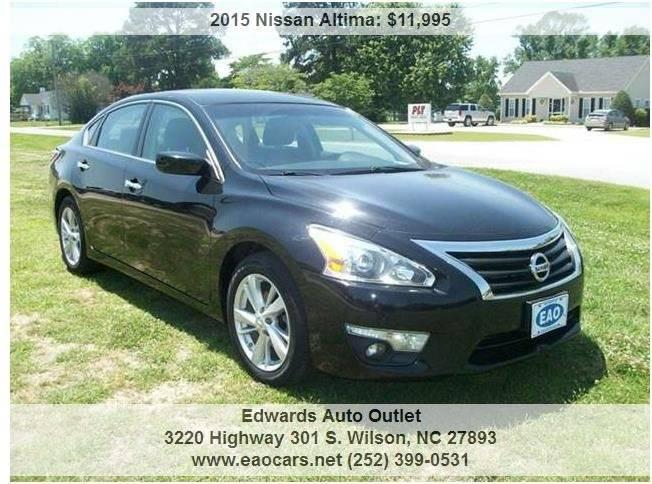 2015 Nissan Altima 2.5 S 4dr Sedan - Wilson NC