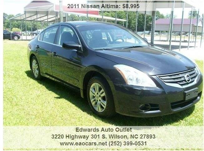 2011 Nissan Altima 2.5 4dr Sedan - Wilson NC