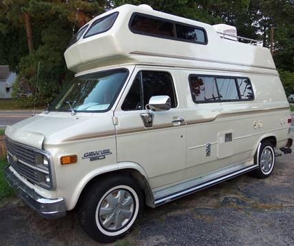 1983 Chevrolet 20 HIGH TOP CAMPER VAN for sale in Norfolk, VA