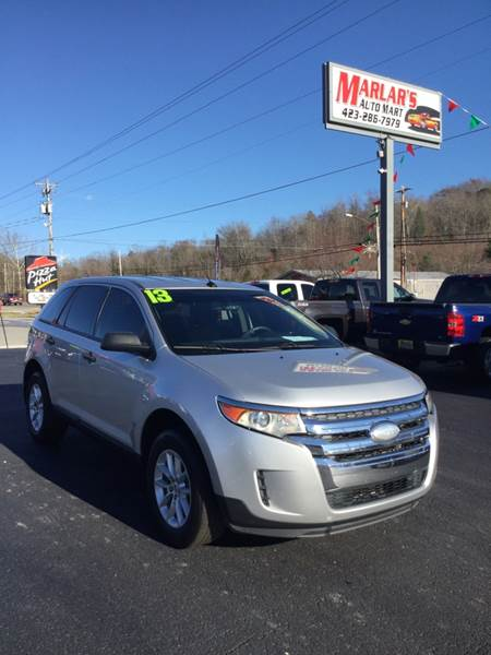 Ford Edge For Sale At Marlar Auto Mart South In Oneida Tn