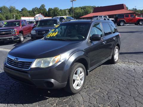 2010 Subaru Forester for sale at MARLAR AUTO MART SOUTH in Oneida TN