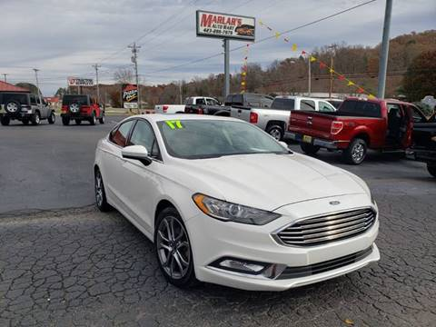 2017 Ford Fusion for sale in Oneida, TN