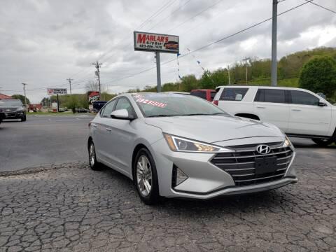 2019 Hyundai Elantra for sale at MARLAR AUTO MART SOUTH in Oneida TN