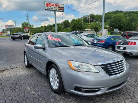 2014 Chrysler 200 for sale at MARLAR AUTO MART SOUTH in Oneida TN