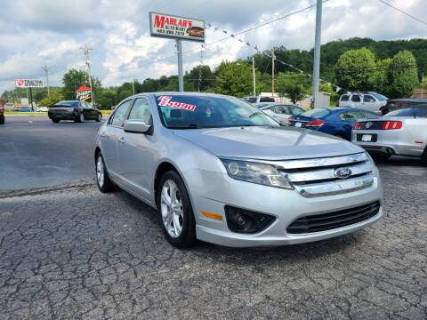 2012 Ford Fusion for sale at MARLAR AUTO MART SOUTH in Oneida TN