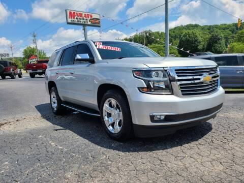 2015 Chevrolet Tahoe for sale at MARLAR AUTO MART SOUTH in Oneida TN