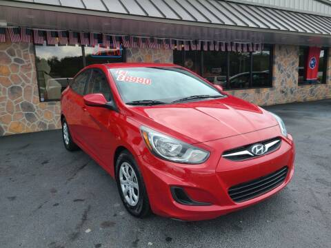 2014 Hyundai Accent for sale at MARLAR AUTO MART SOUTH in Oneida TN