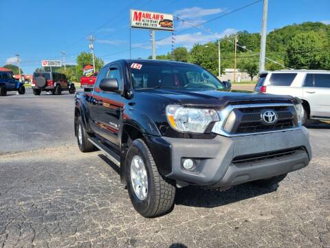 2015 Toyota Tacoma for sale at MARLAR AUTO MART SOUTH in Oneida TN