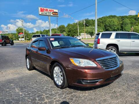 2013 Chrysler 200 for sale at MARLAR AUTO MART SOUTH in Oneida TN
