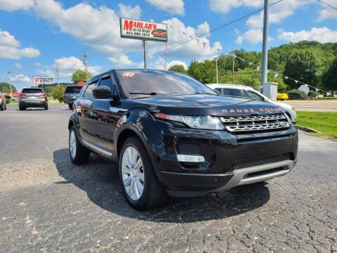 2015 Land Rover Range Rover Evoque for sale at MARLAR AUTO MART SOUTH in Oneida TN
