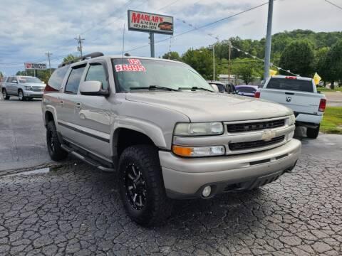 2005 Chevrolet Suburban for sale at MARLAR AUTO MART SOUTH in Oneida TN