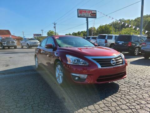 2013 Nissan Altima for sale at MARLAR AUTO MART SOUTH in Oneida TN