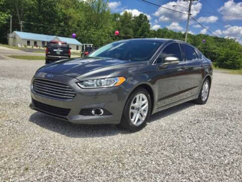 2016 Ford Fusion for sale at MARLAR AUTO MART SOUTH in Oneida TN