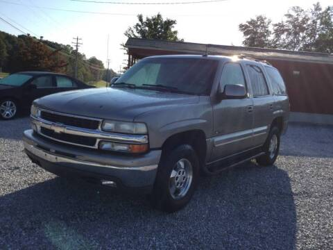 2002 Chevrolet Tahoe for sale at MARLAR AUTO MART SOUTH in Oneida TN