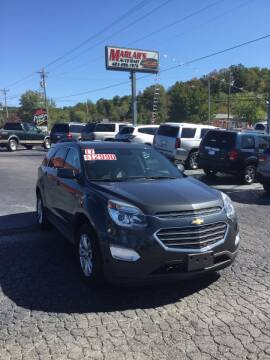 2017 Chevrolet Equinox for sale at MARLAR AUTO MART SOUTH in Oneida TN