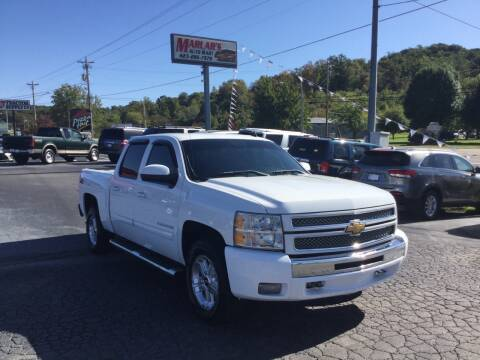 2012 Chevrolet Silverado 1500 for sale at MARLAR AUTO MART SOUTH in Oneida TN