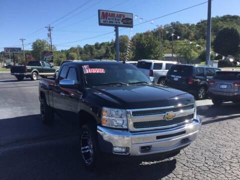 2013 Chevrolet Silverado 1500 for sale at MARLAR AUTO MART SOUTH in Oneida TN