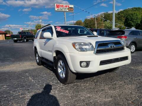 2006 Toyota 4Runner for sale at MARLAR AUTO MART SOUTH in Oneida TN
