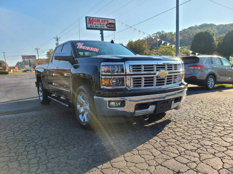 2015 Chevrolet Silverado 1500 for sale at MARLAR AUTO MART SOUTH in Oneida TN