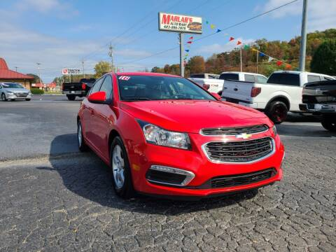 2016 Chevrolet Cruze Limited for sale at MARLAR AUTO MART SOUTH in Oneida TN