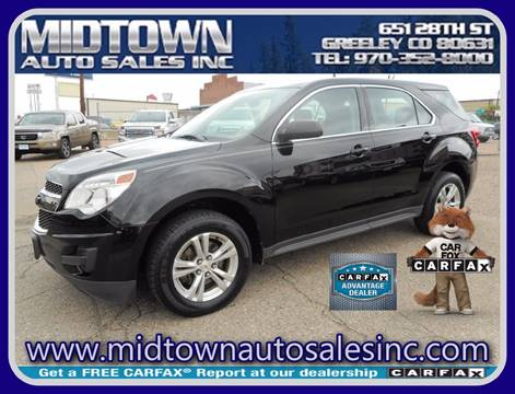 2011 Chevrolet Equinox for sale in Greeley, CO