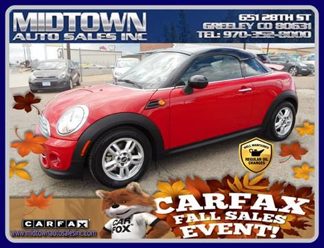 2013 MINI Coupe for sale in Greeley, CO