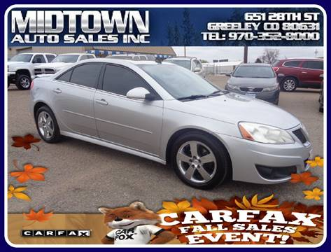 2010 Pontiac G6 for sale in Greeley, CO