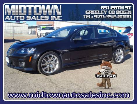 2009 Pontiac G8 for sale in Greeley, CO