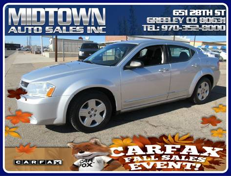 2010 Dodge Avenger for sale in Greeley, CO