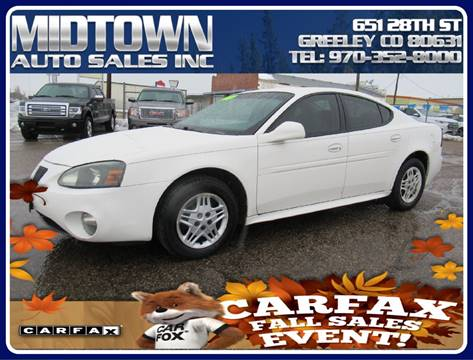 2004 Pontiac Grand Prix for sale in Greeley, CO