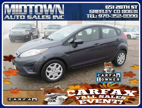 Midtown Auto Sales >> 2012 Ford Fiesta For Sale In Greeley Co