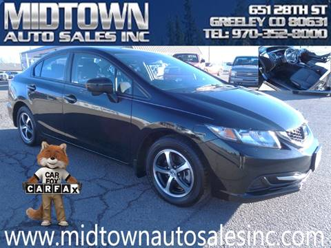 2015 Honda Civic for sale in Greeley, CO