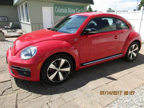 2015 Volkswagen Beetle for sale at Colorado Motor Car Company in Fort Collins CO